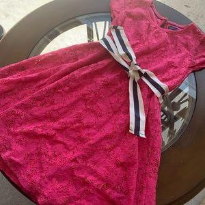 Tommy Hilfiger girls dress size 7 worn once